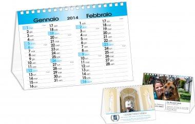 Calendario da tavolo con foto del cliente tipolitografia leone - Calendario da tavolo con foto proprie ...